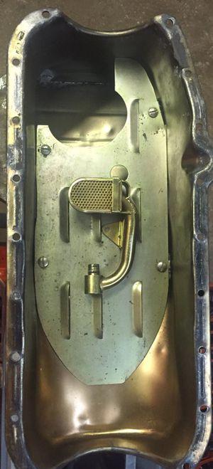 Milodon dirt track pan and pickup tube for Sale in Boyce, LA