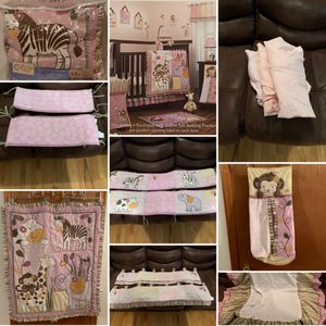 CoCaLo Crib Bedding Set with Hamper for Sale in Kearny, NJ