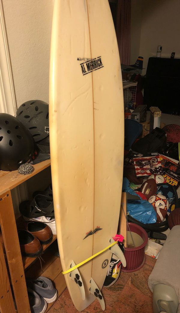 """Al Merrick channel island flyer F surfboard 6""""4"""
