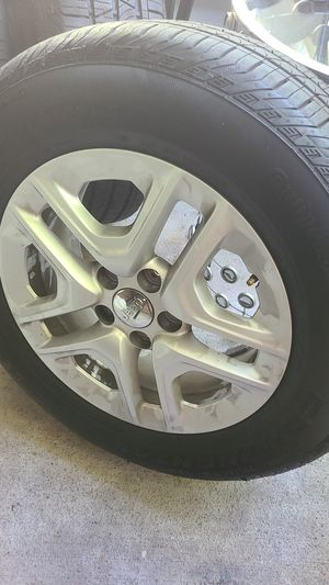 Jeep tires and rims stock for Sale in Renton, WA