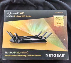 Netgear Nighthawk X6S wifi Router for Sale in Whittier, CA