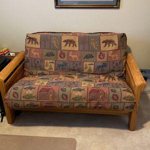 Oak Frame Futon for Sale in Olympia, WA