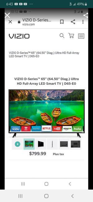 VIZIO 4k! smart Tv for Sale in Lancaster, PA