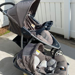 Chicco Viaro Infant Car Seat KeyFit 30 💺 & Stroller Travel System for Sale in Yorba Linda, CA