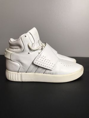 Used Adidas Tubular Strap Invader Sneakers EASBLU Women's Size 4 Pre-owned Gently used for Sale in French Creek, WV