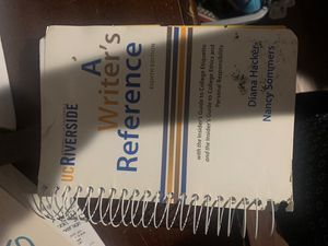 UCR book a writer's reference for Sale in Perris, CA