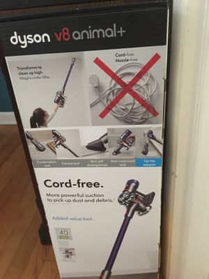 NEW dyson V8 animal + cordless vacuum- never opened for Sale in Siler City, NC