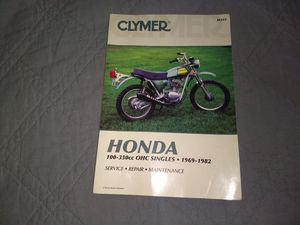 MOTORCYCLE REPAIR MANUAL for Sale in Squaw Valley, CA