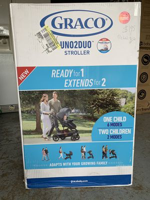 Graco- UNO 2 DUO -Baby stroller- new unused in the original box never opened for Sale in Portland, OR