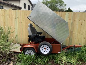 Scoota trailer enclosed weather proof with or without jazzy chair for Sale in Joliet, IL