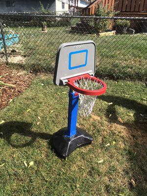 Kids plastic adjustable basketball hoop for Sale in Canonsburg, PA