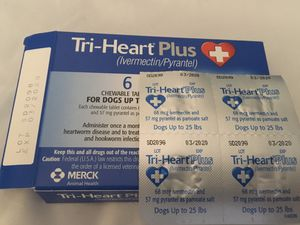 Tri-Heart Plus Heartworm Chewable Tablets for Sale in Carrollton, TX