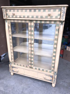 Hutch, with beautiful painted wood for Sale in Tumwater, WA