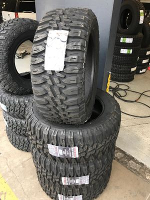 33x12.50R20 New set of MT tires installed for Sale in Ontario, CA