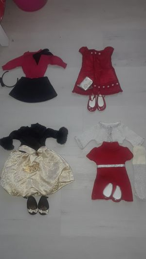American girl doll holiday outfits $10 each for Sale in MD CITY, MD