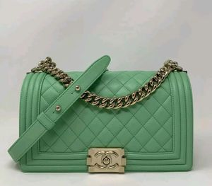 CHANEL Boy Bag Quilted Shoulder Bag for Sale in Corona, CA