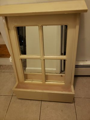 Rustic window mirror for Sale in Trumbull, CT