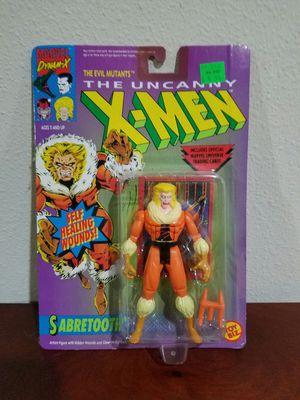 Sabertooth The Uncanny X-Men Marvel Comics ToyBiz RARE VINTAGE COLLECTABLE Action Figure for Sale in Thonotosassa, FL