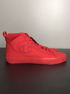 Men's Champion METRO HIGH CP100562M Red Casual High Top Lace-Up Sneakers Shoes New without box for Sale in Tennerton, WV