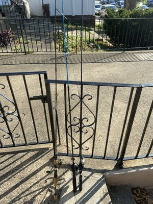 Fishing rods and reels combo $35 for Sale in Philadelphia, PA