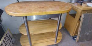 Rolling Kitchen Island for Sale in Georgetown, TX