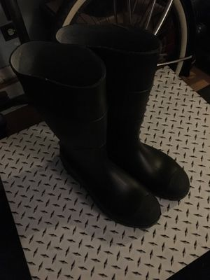 Rubber boots size 13 for Sale in Denver, CO