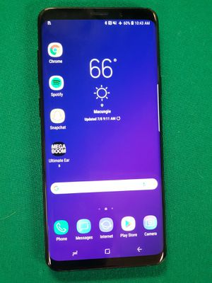 Samsung Galaxy S9+ Black 64Gb for Sale in Bellefonte, PA