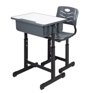 Children Desk and Chairs Set with Pencil Slot, Black for Sale in Beaumont, CA