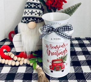 Farmhouse milk can and peppermint tree for Sale in Tampa, FL