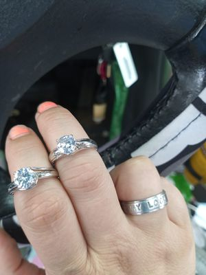 2 rings never wore size 7 for Sale in Lexington, NC