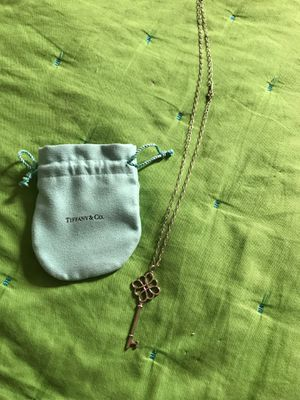 Authentic Tiffany & Co Lock Necklace for Sale in Tampa, FL