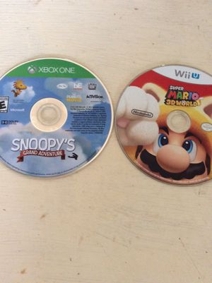 Nintendo Wii U Nintendo Wii and Xbox one games for Sale in Tacoma, WA