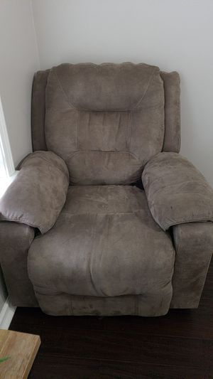 Microfiber recliner is a set with love seat and sofa for Sale in Murfreesboro, TN