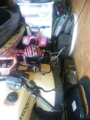 110 quad and four razors 350 for Sale in Lithia Springs, GA