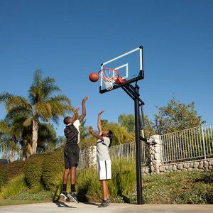 Goliath 54 inch in ground basketball hoop for Sale in Beverly Hills, CA
