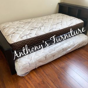 Twin Bed & Twin Roll Out Mattress for Sale in Norwalk, CA