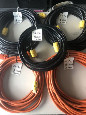 New extension cords (brand new) for Sale in Winter Garden, FL