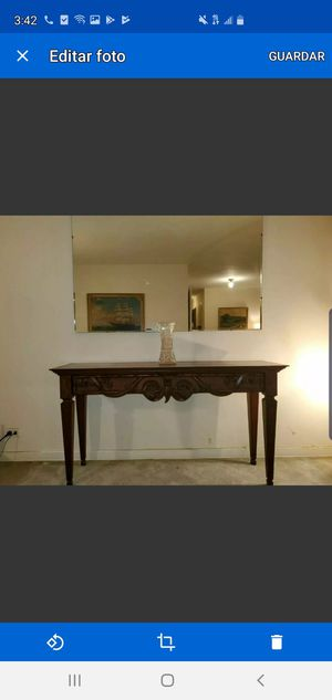 Console table Ethan allen furniture italian for Sale for sale  Queens, NY