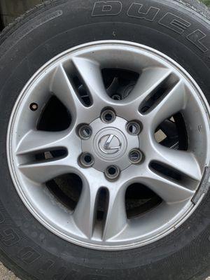Lexus gx470 wheels rims for Sale in Nashville, TN