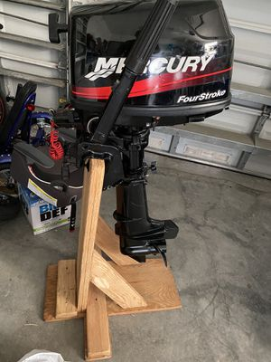 2011 just serviced Mercury 4hp outboard engine Motor for Sale in Fort Lauderdale, FL