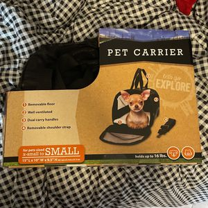 SMALL PET DOG CARRIER BRAND NEW! for Sale in Chula Vista, CA