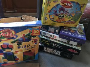 Puzzles, books, board games, etc. - Lots to choose from. for Sale in Marietta, GA