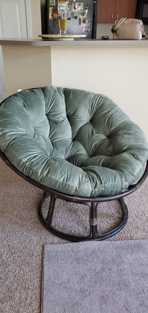 Papasan chair for Sale in Ontario, CA