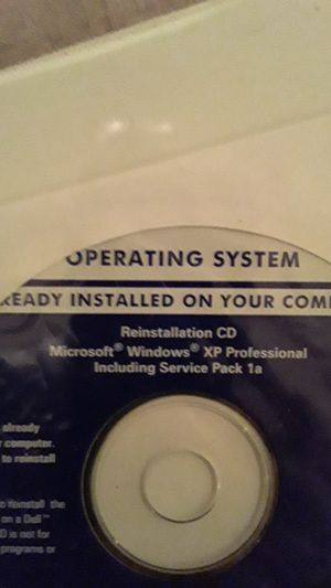 Windows XP Professional (Extremely Rare Version) for Sale in Phoenix, AZ