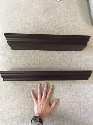 Floating shelves with ledge for Sale in Raleigh, NC