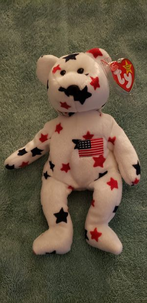 American glory beanie baby for Sale in Mission Viejo, CA