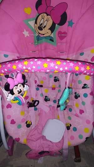 Minnie mouse baby bouncer for Sale in San Antonio, TX