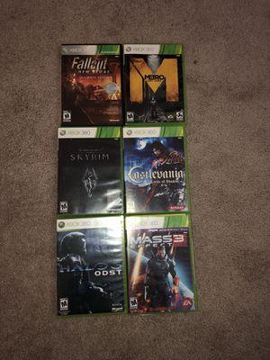 Xbox 360 games. for Sale in Alton, IL