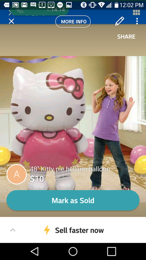 "46"" hello Kitty for Sale in Newington, CT"