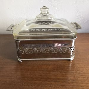 Pyrex with Cradle for Sale in Grand Terrace, CA